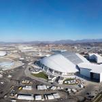 аэросъемка, съемка с воздуха, мультикоптер, Сочи, Фишт до начала Олимпиады
