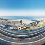 Железнодорожный вокзал Адлера за месяц до начала Олимпиады