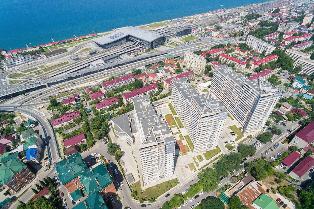 Инфраструктура жилого квартала