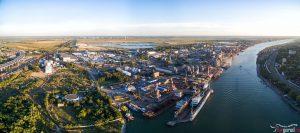 Промышленная зона на Луговой