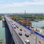 Открытие Ворошиловского моста. Аэросъемка