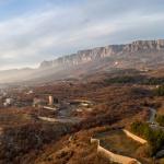 Крым Зимой 2015. Недостроенный пансионат. Понизовка. Аэросъемка
