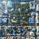 Ростов. Парк им. Горького. Аэросъемка. Размер 1,5 м х1,5 м
