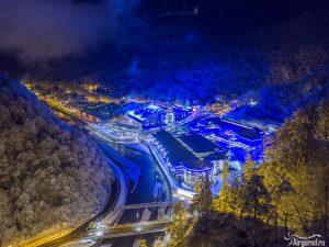 Галактика Газпрома зимой