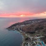 Кацивели в закате. Крым
