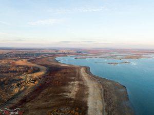 Цимлянское водохранилище. Аэросъемка. 2015