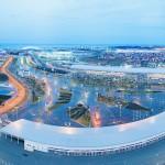 Олимпийский парк на рассвете