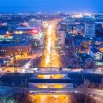 Ростов, Нагибина, Рио, на закате, Аэросъемка