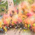 Праздник красок в Ростове-на-Дону