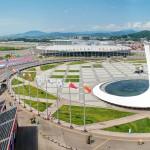 Олимпийский огонь. Лето 2015. Аэросъемка