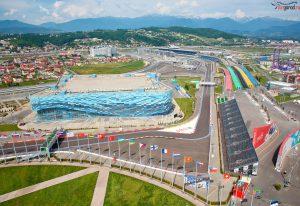 Олимпийский парк. Лето 2015. Аэросъемка