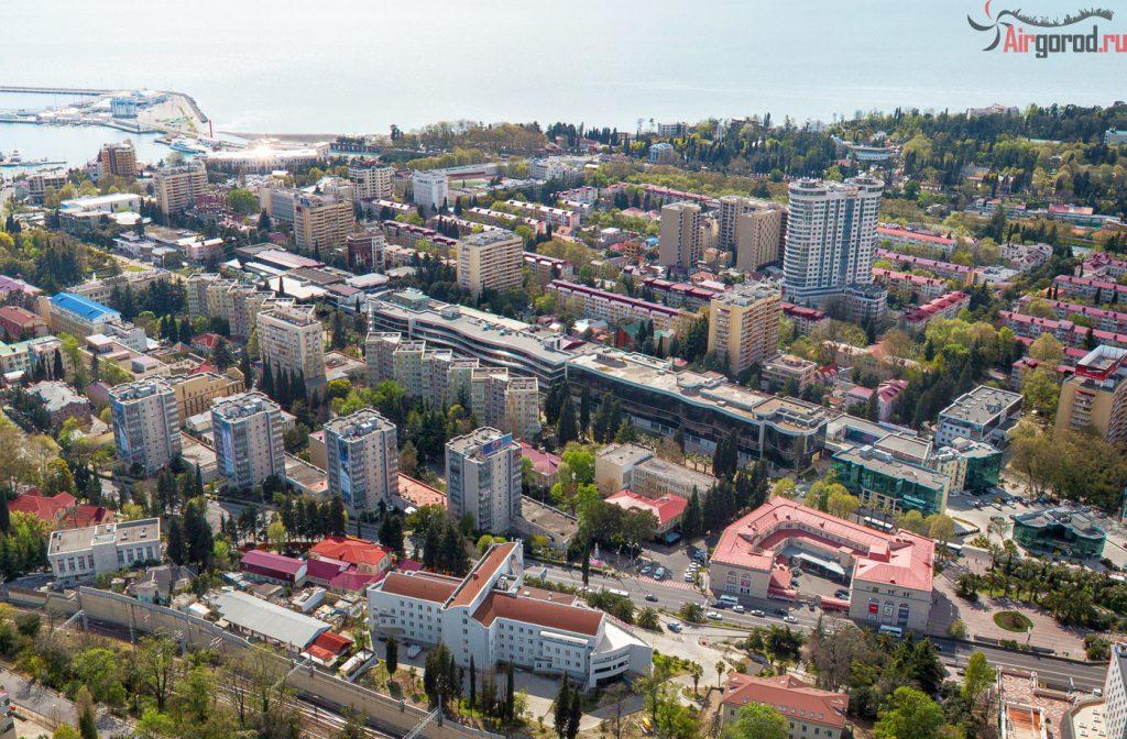 Самый центр города-курорта Сочи