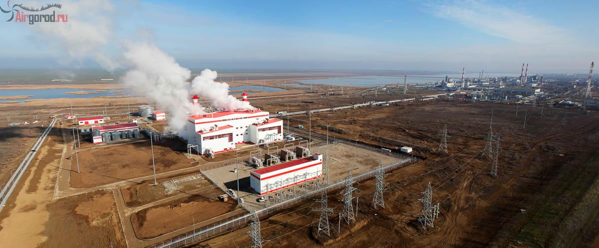 ТЭС Лукойл в Буденновске. Аэросъемка