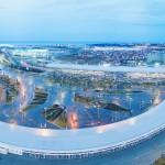 Утренний вид на Олимпийский парк