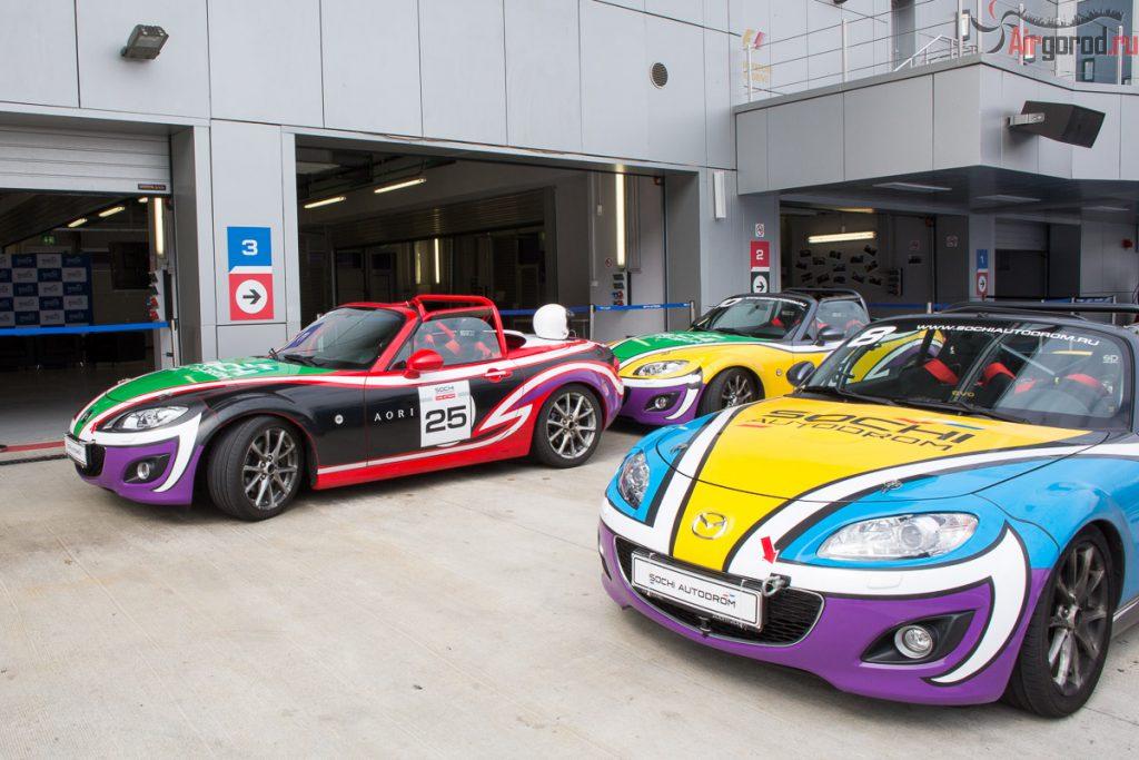 Race Taxi - поездка по гоночной трассе Сочи Автодром