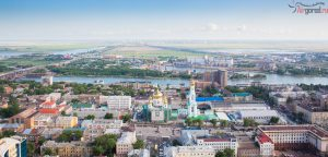 Ростов. Церковь. Аэросъемка