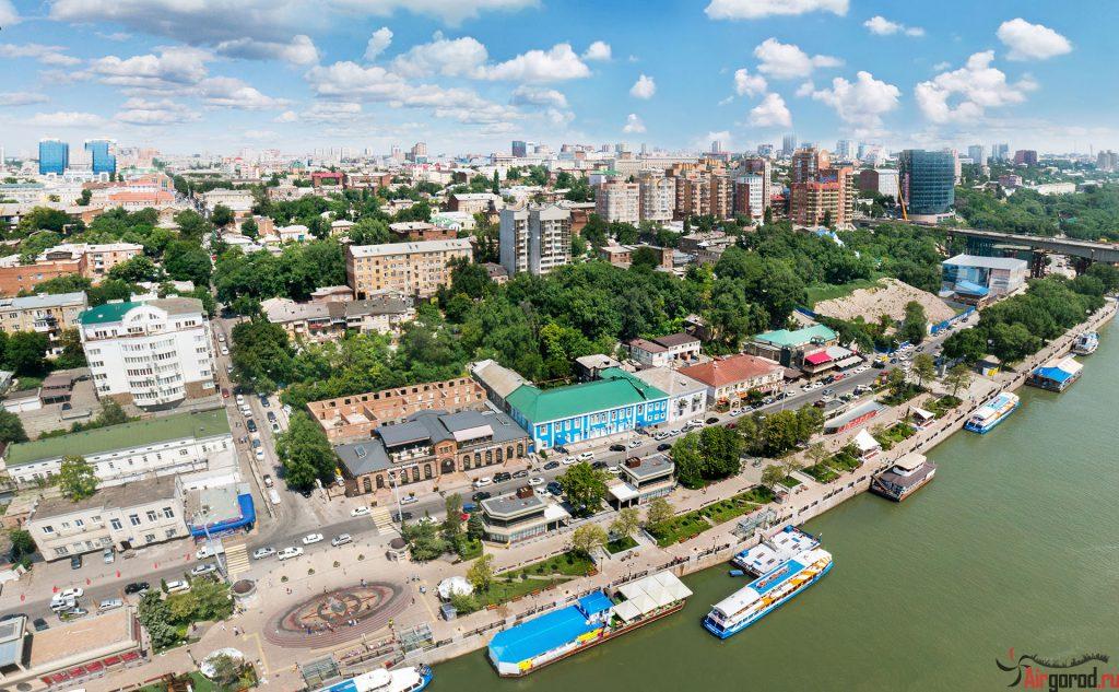Ростовская набережная 2014. Аэросъемка