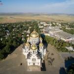 Вознесенский Войсковой собор. Аэросъемка
