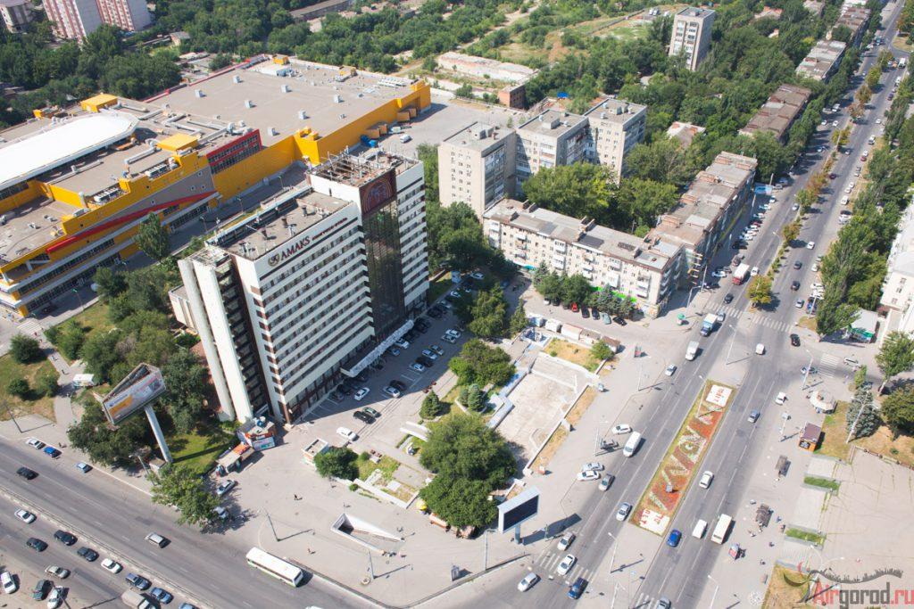 Площадь Ленина - Амакс. Аэросъемка