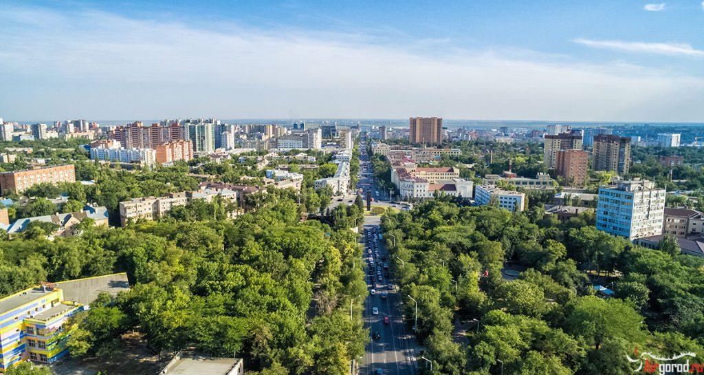 Вид на Комсомольскую площадь