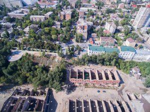 Ростов. Парамоновские склады. Аэросъемка