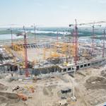 Ростовский стадион ЧМ-2018. Аэросъемка