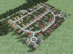поселок Стандартный 3D-модель