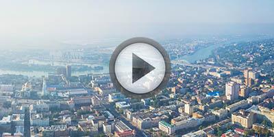 Виртуальная панорама с воздуха. Парк Горького