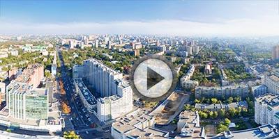 Виртуальная панорама. Текучева-Буденновский. Аэросъемка