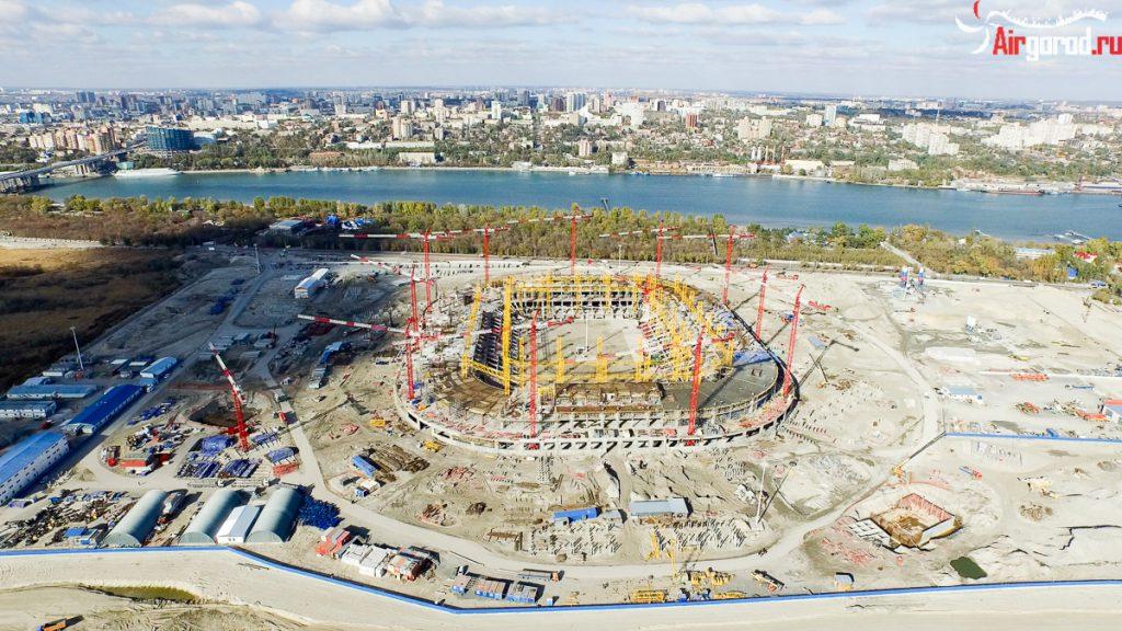 Ростовский стадион Арена ЧМ 2018. 31 октября 2015