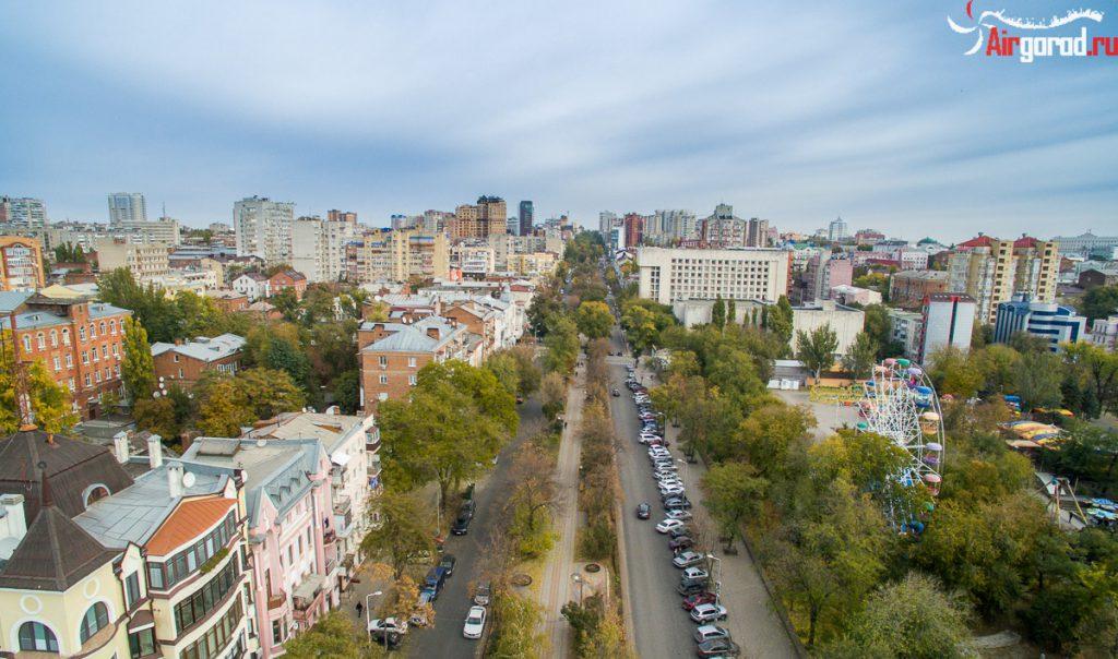 Пушкинская. Ростов. Аэросъемка