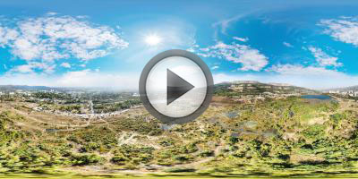Кисловодск-Трофи. Кубок ФНПР. Виртуальная панорама с воздуха