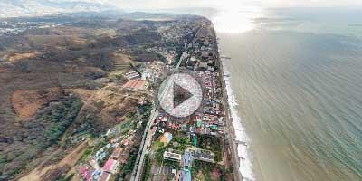 "Виртуальная панорама с воздуха над санаторием ""Знание"""