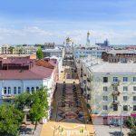 Реконструированный переулок Соборный в Ростове