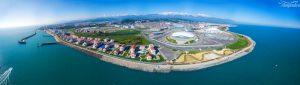 Олимпийский парк и Имеретинская низменность. 2016 май