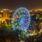 Колесо Одно Небо в парке Революции
