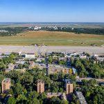 Ростовский аэропорт с высоты