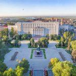 Площадь Советов и Администрация Ростовской области