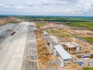 """Строительство аэропорта """"Южный"""". Май 2016"""