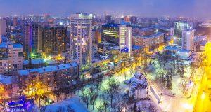 Покровский сквер. Зима