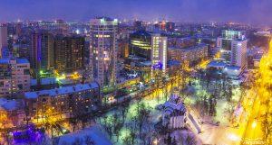 Покровский сквер. Зима 2016