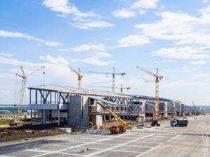 Строительство аэропорта Платов