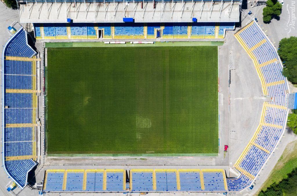 Стадион Олимп-2 с высоты
