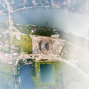 Ростов-Арена с высоты. 13 июля 2016