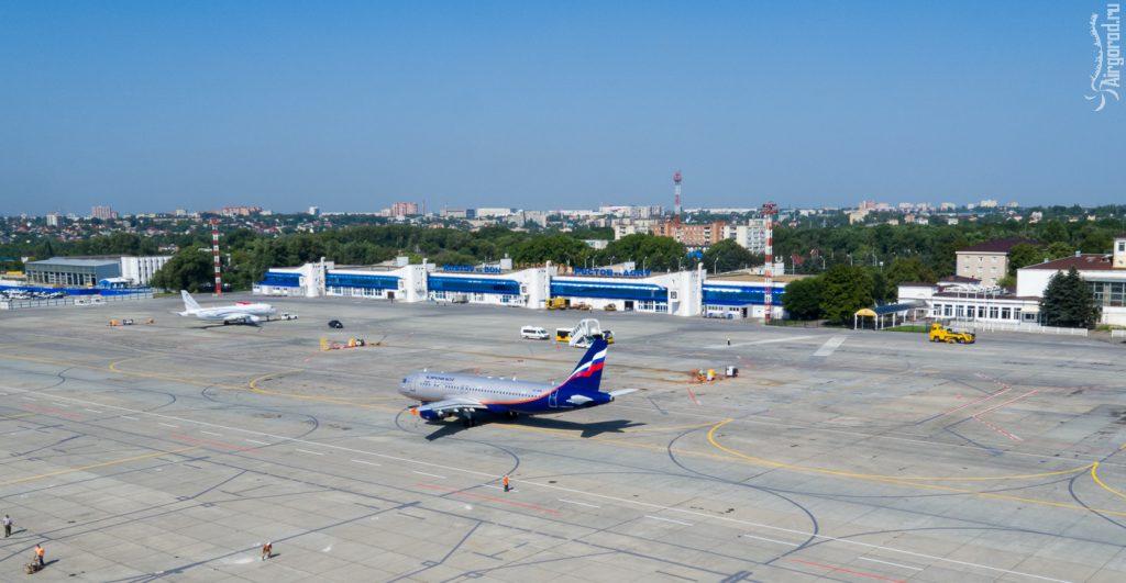 Ростовский аэропорт 2016. Аэросъемка