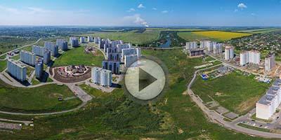 Виртуальный панорама над ЖК Суворовский