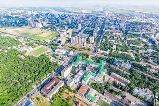 Съемка объектов недвижимости: жилых кварталов, коттеджных поселков, отдельных зданий