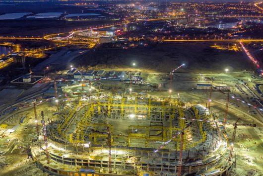 Съемка индустриальных и промышленных объектов