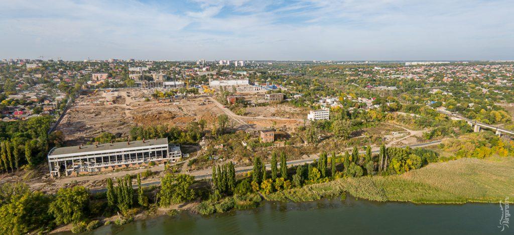 """Территория бывшего завода """"Красный Аксай"""""""
