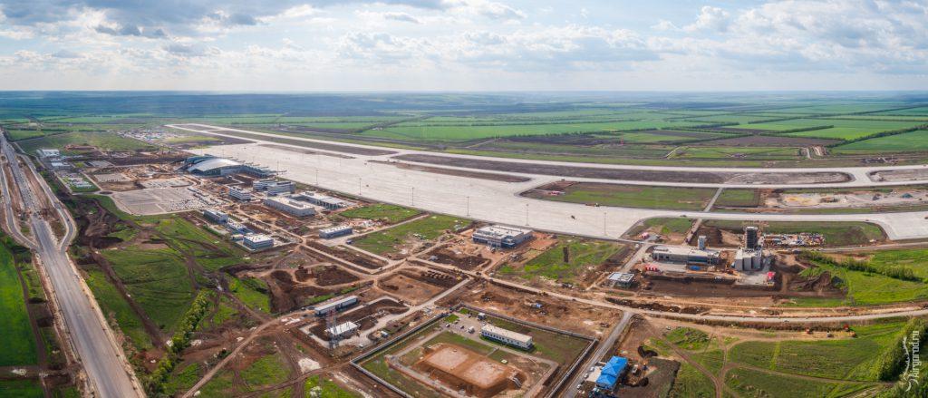 """Аэропорт """"Платов"""" 25 мая 2017 года. Аэросъемка"""